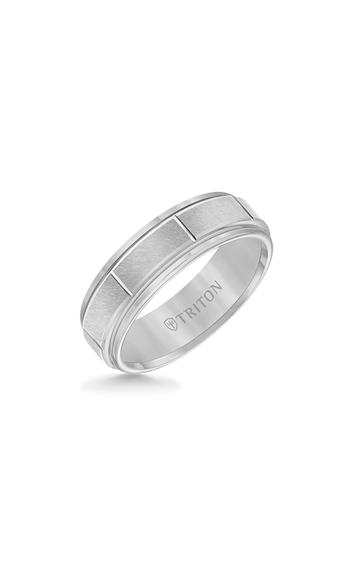 Triton Carved Wedding band 11-2229C-G product image