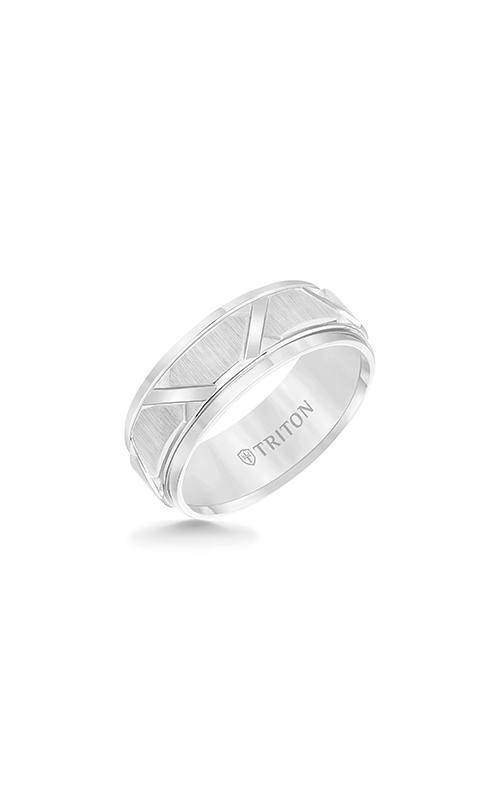 Triton Carved Wedding Band 11-4126HC-G product image