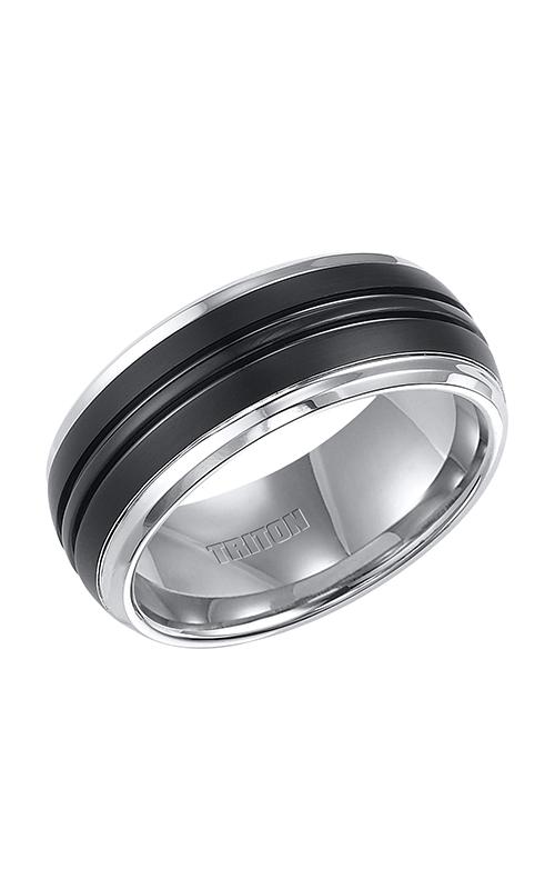 Triton Carved Wedding band 11-4148MC-G product image