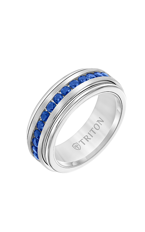 Triton Stone Wedding band 22-6071SWCS-G product image