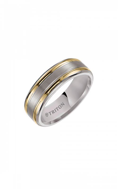 Triton Titanium Wedding Band 11-2007T-G product image