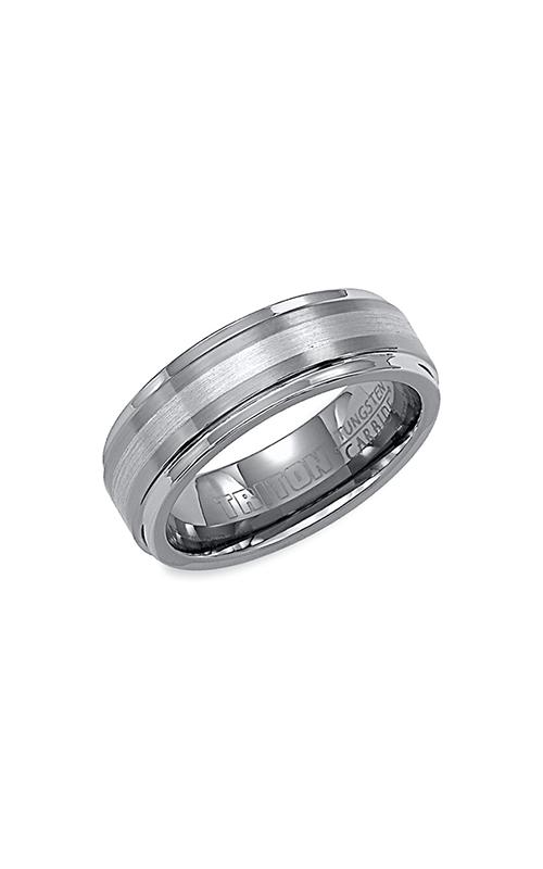 Triton Tungsten Carbide Wedding Band 11-2098P7C-G product image