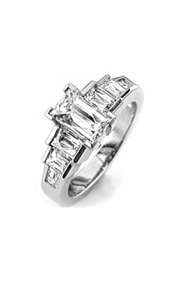 Tycoon Cut Bridal Engagement ring TYS744A product image