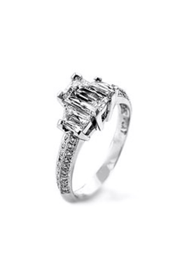 Tycoon Cut Bridal Engagement ring TY1420 product image