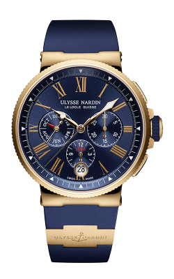 Ulysse Nardin Marine Chronopgraph Watch 1532-150-3/43 product image