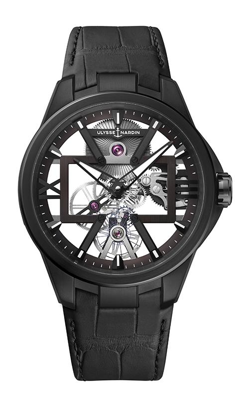 Ulysse Nardin Skeleton X Watch 3713-260/BLACK product image