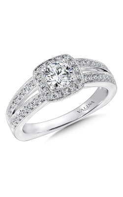 Valina Vintage Engagement Ring R9417W product image