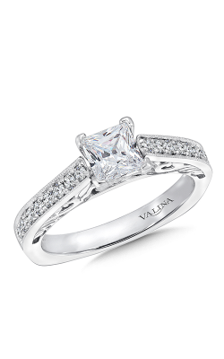 Valina Vintage Engagement Ring R9398W product image