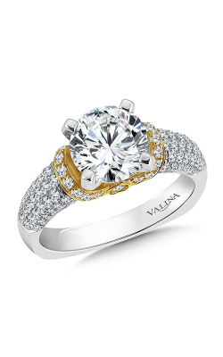 Valina Distinctive Engagement Ring R9241W product image