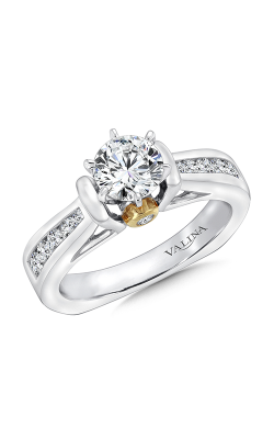 Valina Modern Engagement Ring R9067W product image