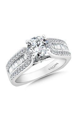 Valina Modern Engagement Ring R036W product image