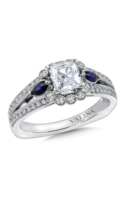 Valina Vintage Engagement Ring R9802WP-BSA product image