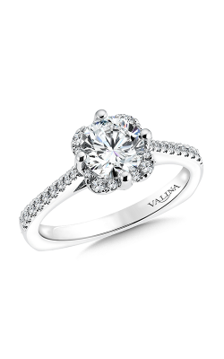 Valina Vintage Engagement Ring R9540W product image
