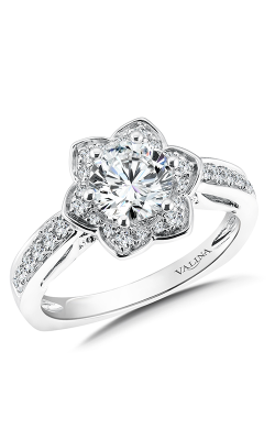 Valina Vintage Engagement Ring R9613W product image