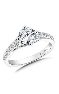 Valina Vintage Engagement Ring R9435W product image