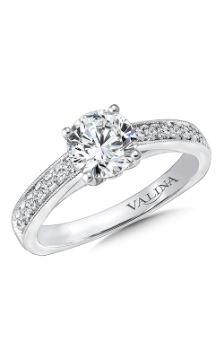Valina Vintage Engagement Ring R9665W product image