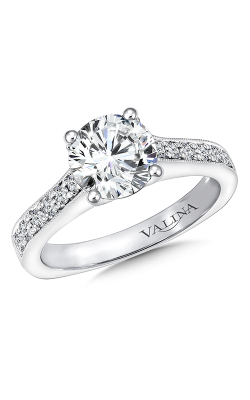 Valina Vintage Engagement Ring R9664W product image