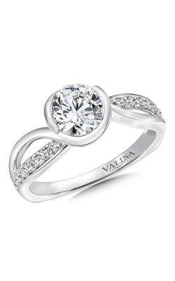 Valina Modern Engagement Ring R9668W product image