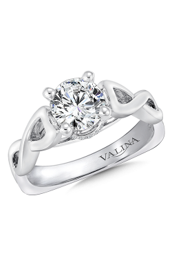 Valina Graceful Engagement Ring R9257W product image