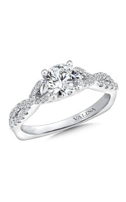 Valina Graceful Engagement Ring R9636W product image