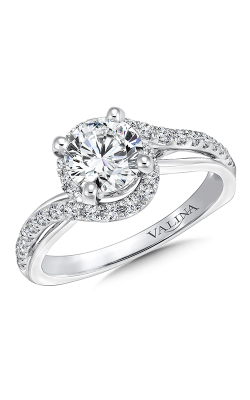Valina Graceful Engagement Ring R9657W product image