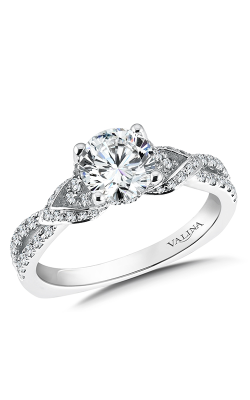 Valina Graceful Engagement Ring R9572W product image