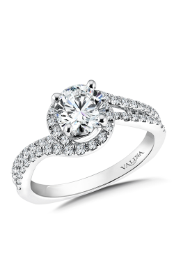 Valina Graceful Engagement Ring R9579W product image