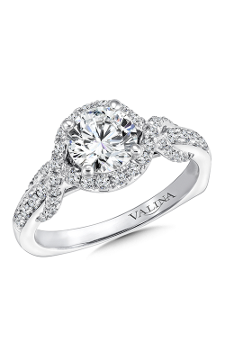 Valina Graceful Engagement Ring R9659W product image