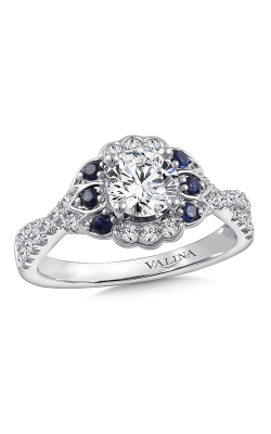Valina Eternal Engagement Ring R9777W-BSA product image