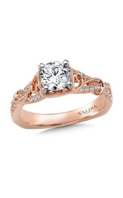 Valina Vintage Engagement Ring R9892P product image