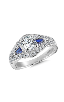 Valina Modern Engagement Ring R9927W-BSA product image