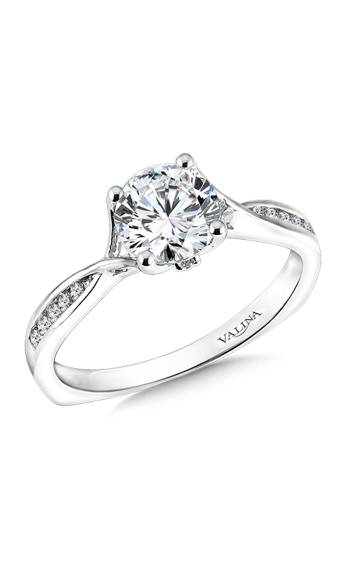 Browse Valina R9596w Engagement Rings Michael Agnello Jewelers