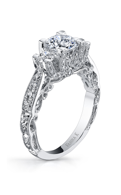 Vanna K Hand Engraved Engagement ring 18RGL00628DCZ product image