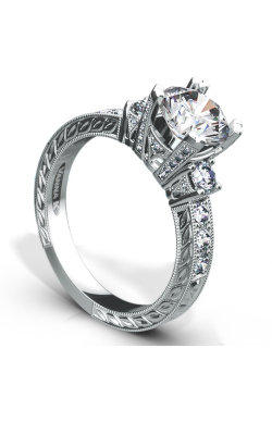 Vanna K Hand Engraved Engagement ring 18RGL00640DCZ product image