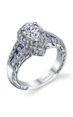 Vanna K Hand Engraved Engagement ring 18R839DCZ product image