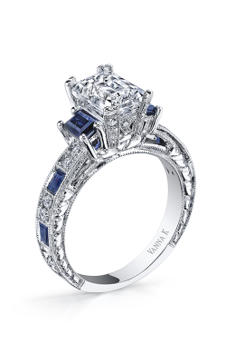 Vanna K Hand Engraved Engagement ring 18RGL00631SDCZ product image
