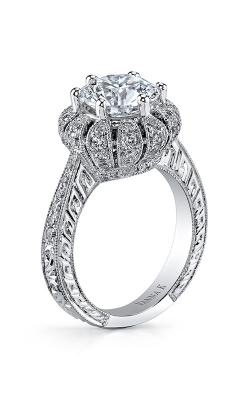 Vanna K Hand Engraved Engagement Ring 18RO23932DCZ product image