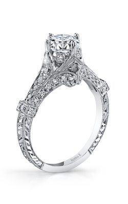 Vanna K Hand Engraved Engagement Ring 18RGL00398DCZ product image