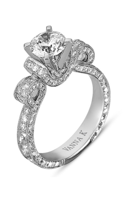 Vanna K Hand Engraved Engagement Ring 18RGL00275DCZ product image