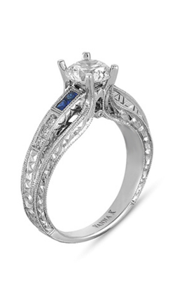 Vanna K Hand Engraved Engagement Ring 18RGL00173SDCZ product image