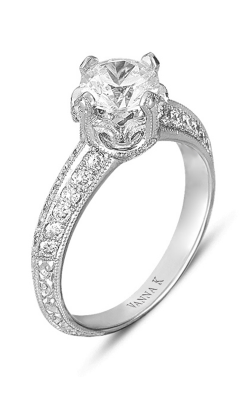 Vanna K Hand Engraved Engagement Ring 18RGL00305DCZ product image