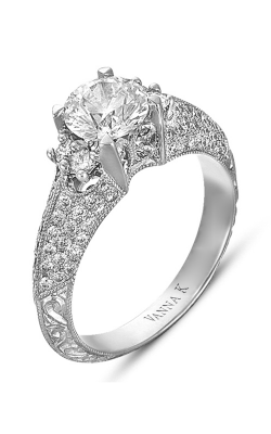 Vanna K Hand Engraved Engagement Ring 18RGL00303DCZ product image