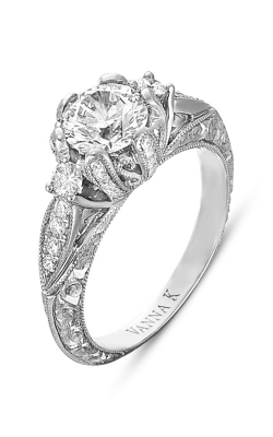 Vanna K Hand Engraved Engagement Ring 18RGL00324DCZ product image