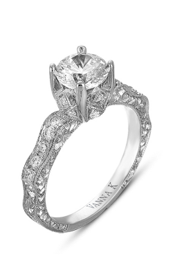 Vanna K Hand Engraved Engagement Ring 18RGL00361DCZ product image