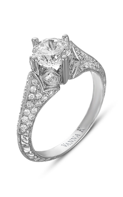 Vanna K Hand Engraved Engagement Ring 18RGL00363DCZ product image