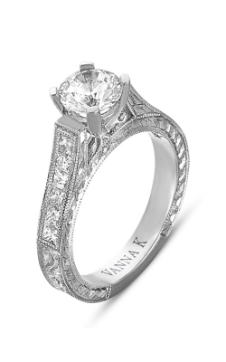 Vanna K Hand Engraved Engagement Ring 18RGL00344DCZ product image