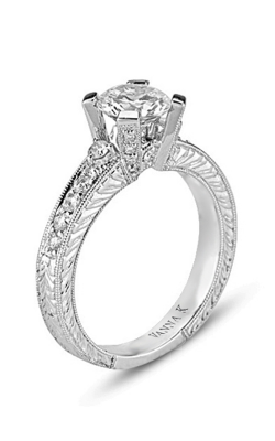Vanna K Hand Engraved Engagement Ring 18RO3140DCZ product image