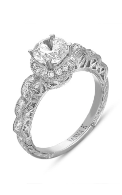 Vanna K Hand Engraved Engagement ring 18RGL00367DCZ product image