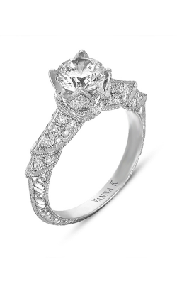 Vanna K Hand Engraved Engagement ring 18RGL00373DCZ product image