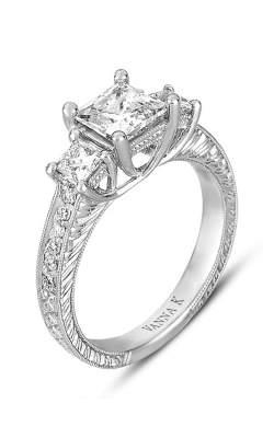 Vanna K Hand Engraved Engagement ring 18R02381DCZ product image